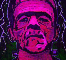 Boris Karloff as Frankenstein's monster 3 by kramcox