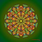 Hand Drawn Mandala - The Maker by mandala-jim