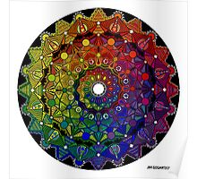 Mandala 46 T-Shirts, Hoodies and Stickers and cases - Jim Gogarty Poster