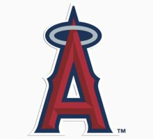 MLB... Baseball Los Angeles Angels by artkrannie