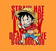 Chibi Luffy by hardsign