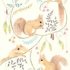 Squirrel Symphony by Catherine Gabriel