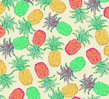 Pineapple Pandemonium Multicolor by Lisa Argyropoulos