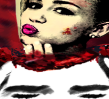 Miley Cyrus Overdrive Sticker