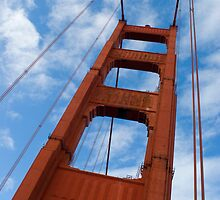 golden gate tower by photoeverywhere