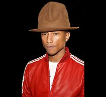 Pharrell William Hat by SpinClothes