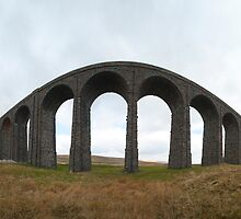 Ribblehall viaduct - fisheye view by photoeverywhere