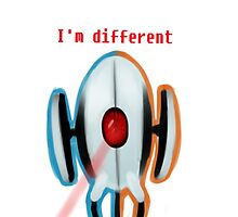 I'm Different Phone Case by Rad-Pax