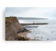 Coastguard at Whitby Canvas Print