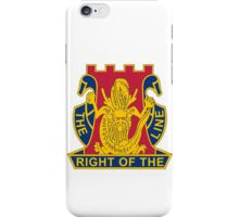 14th Infantry Regiment - The Right Of The Line iPhone Case/Skin