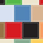 background of colorful square boxes by elgreko