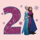 Frozen Anna & Elsa 2nd Birthday by sweetsisters
