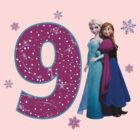 Frozen Anna & Elsa 9th Birthday by sweetsisters