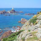 Coastline of the isle of Jersey (UK) by Arie Koene