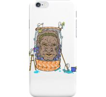 Face of Boe getting a wash iPhone Case/Skin