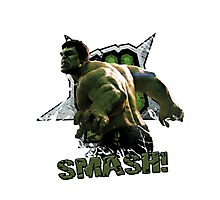 Hulk SMASH! Photographic Print