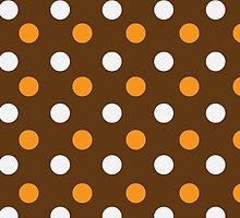 dotted colorful background by elgreko