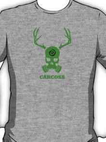 True Detective - Carcosa Gas Mask - Green T-Shirt