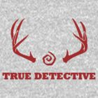 True Detective - Antlers - Red by Prophecyrob