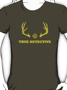 True Detective - Antlers - Yellow T-Shirt