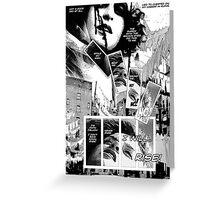 Faith Fallon Graphic Novel Page © Steven Pennella Greeting Card