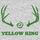True Detective - Yellow King Antlers - Green by Prophecyrob