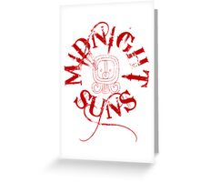 The Midnight Suns Greeting Card