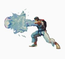 Ryu Street Fighter Hadouken by fabiobatt