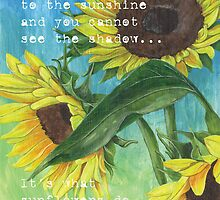 Vince's Sunflowers 2 by Debbie DeWitt