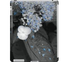 Blue Lace Hydrangea iPad Case/Skin