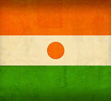 Niger flag by flaglover