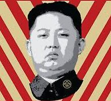 Kim Jung Un wants your respect. by montebiancho