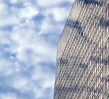 Clouds and Office Building by Valentino Visentini