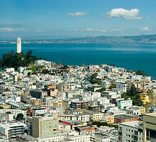 Coit Tower vista by photoeverywhere