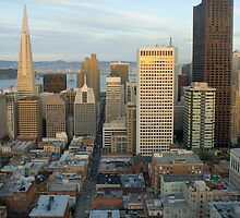 sunset cityscape san francisco by photoeverywhere