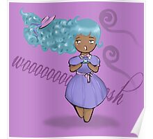 Windy Tea Party Poster