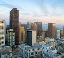 downtown panorama san francisco by photoeverywhere