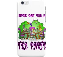 Alice has a Tea Party iPhone Case/Skin