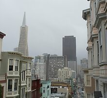 wet day in san francisco by photoeverywhere