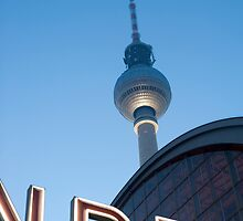 berlin tv tower by photoeverywhere