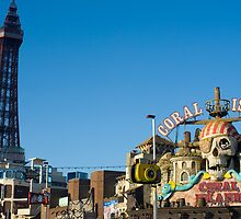 blackpool seafront by photoeverywhere
