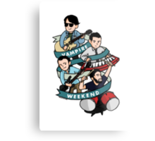 Vampire Weekend  Metal Print