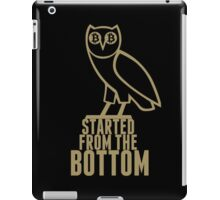 Bitcoin Started From The Bottom T Shirt iPad Case/Skin