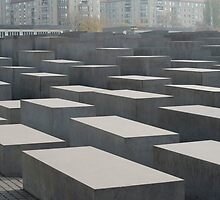 Denkmal fur die ermordeten Juden Europas by photoeverywhere