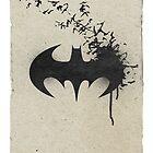 Batman minimalistic poster by koroa