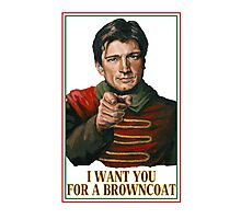 I Want You Poster Photographic Print