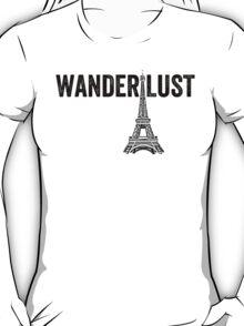 Wanderlust - Eiffel Tower, Paris - Style 2 T-Shirt