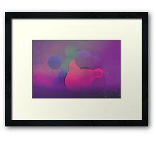Blob 01 Framed Print