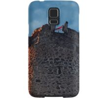 The tower of Waxenberg castle in the sunset | architectural photography Samsung Galaxy Case/Skin