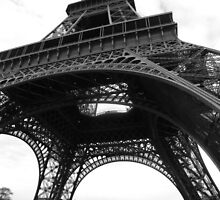 Underneath the Eiffel Tower by MadVonD